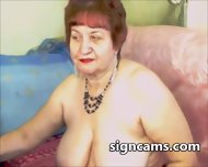 Horny Redhead Mature Touch Her Mature Pussy On Cam