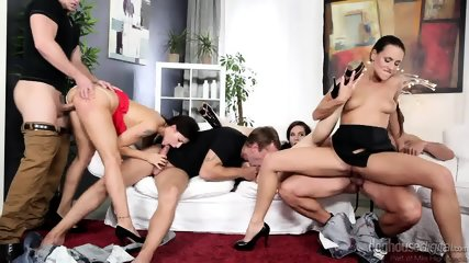 Group Sex With Three Hot Ladies - scene 4