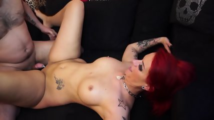 Wild Redhead Whore Loves Sex