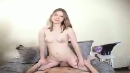 Girl blowing and getting licked - scene 1