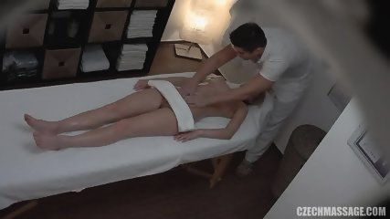 Masseur Knows What This Blonde Girl Likes