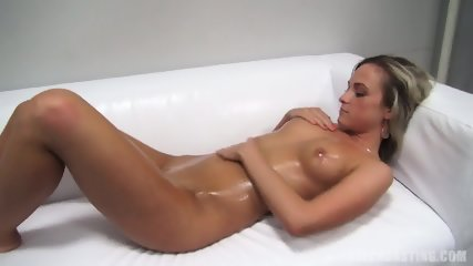 Casual Blonde Takes Off Clothes And Gets Banged - scene 6
