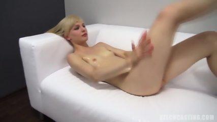 Skinny Amateur Aneta Shows Her Body