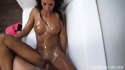 Oiled Amateur Likes Sex