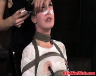 Bdsm Sub Bonnie Day Face Taped Up And Tt