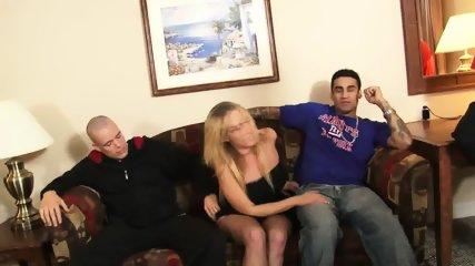Slut Surrounded By Dicks - scene 1