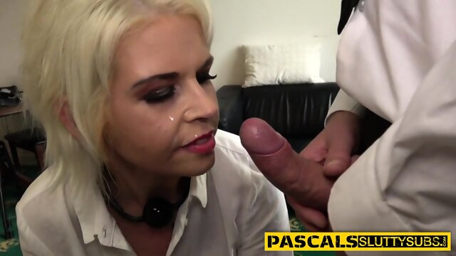 Real bdsm whore gets pussy pounded