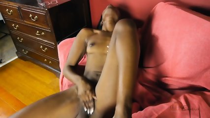 Ebony Chick In Solo Action - scene 11