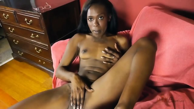 Ebony Chick In Solo Action