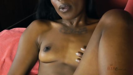 Ebony Chick In Solo Action - scene 7