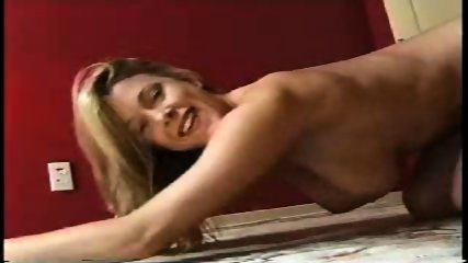 Sydney Moon playing with breasts - scene 4