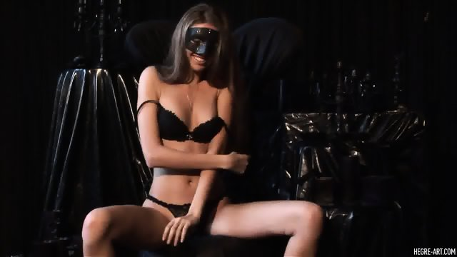 Dark Angel Without Lingerie