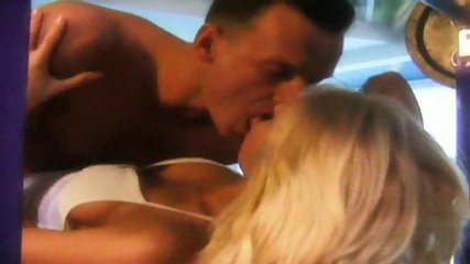 Blonde gets fucked by her Fitness Coach - scene 3