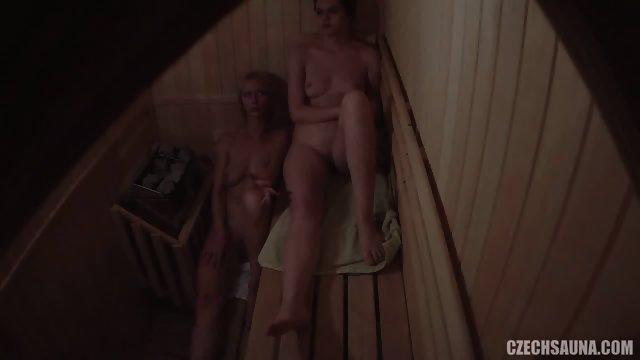 Naked Girls In Sauna