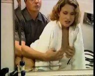 Cassandra enjoying a Shower - scene 4