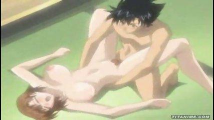 Hot Anime Brunette gets fucked - scene 9
