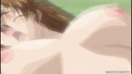 Hot Anime Brunette gets fucked - scene 10