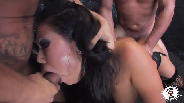 Fucked Hard In Face, Pussy And Anus
