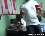 Gay College Boys Banging Ass At Dorm Room Sex Party