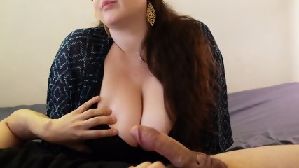 Blowjob And Breast Tease From Busty Girl - scene 4