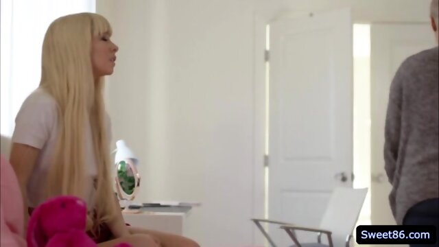 Erotic lesbian affair with hot babes Kenzie Reeves and Ryan Keely