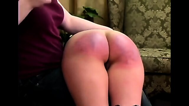 Cindy spanked otk and strapped
