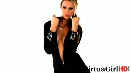 Gorgeous Bernadette posing - scene 7