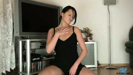 Hot Veronika playing with fingers - scene 2