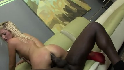 Red Stockings And Big Black Cock In Ass - scene 8
