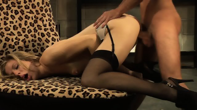 Cum On Hairy Cunt After Hardcore Sex