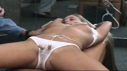 Cutting bondaged panties - scene 3