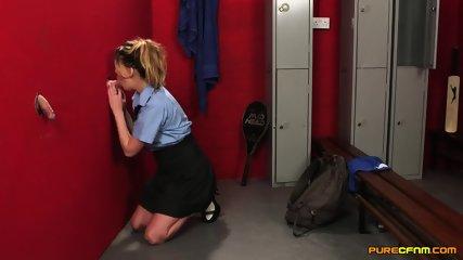 Nadia Elaina Netball Girls Mistake - scene 8