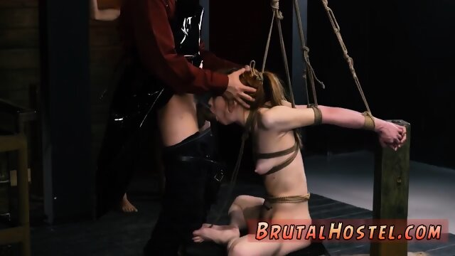 Chair bondage and petite blonde xxx sexual submission and aggressive bondage!