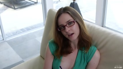Blowjob By Chick With Glasses - scene 1