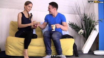 Cum In Young Blonde's Pussy - scene 3
