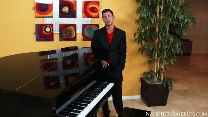 Hardcore Sex During Piano Lesson - scene 1