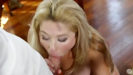Busty Mom Likes Taste Of Sperm - scene 9