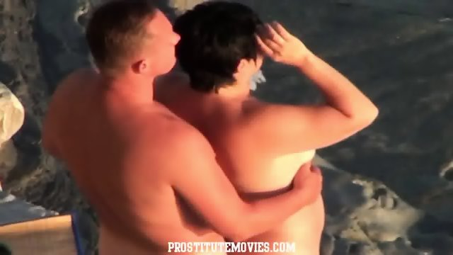 Shocking Mature Couple Fucking In Public