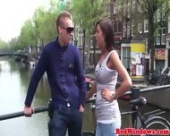 Dutch Hookers Tight Ass Gets Cumshot