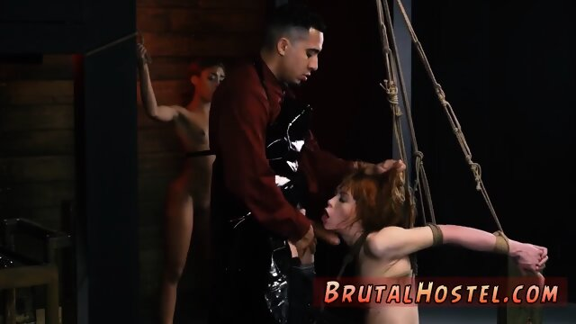 Extreme anal toys and dick sexual obedience and fierce bondage!