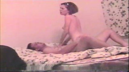 Young couple in bed - scene 12