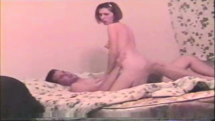 Young couple in bed - scene 2