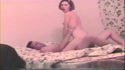 Young couple in bed - scene 3