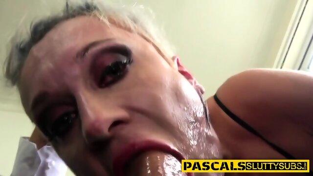Kinky tattooed milf with big tits