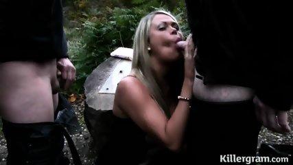Nice Blonde Likes Cock Sucking - scene 4