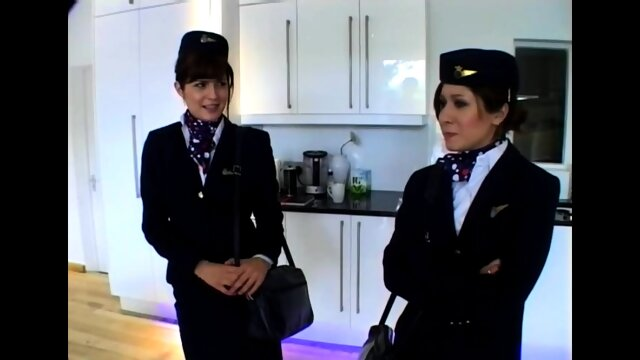 Flight attendant spanked hard otk by airline executive