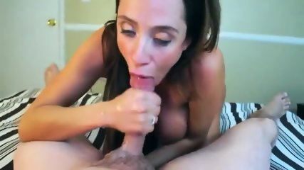Busty Babe Sucking On My Balls - scene 12