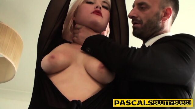 Real bound blonde paddled and pounded
