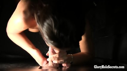 Stephani Second Glory Hole Pov - scene 11