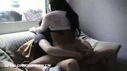 German Couple having Sex on Couch - scene 9